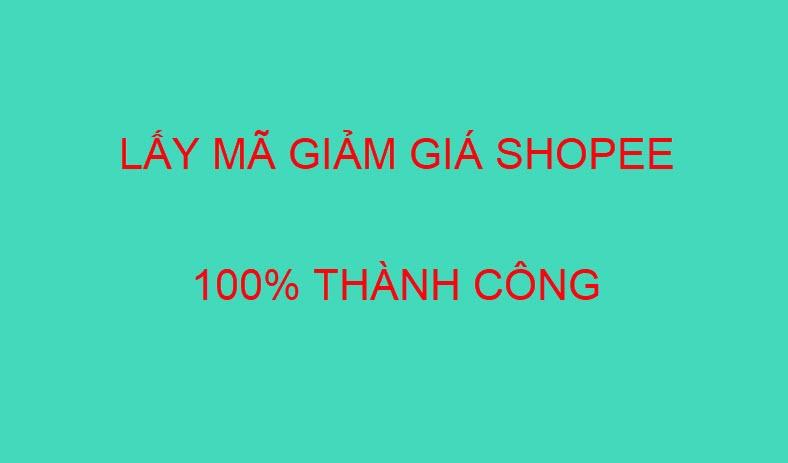 Làm sao để lấy mã giảm giá trên Shopee 100% thành công