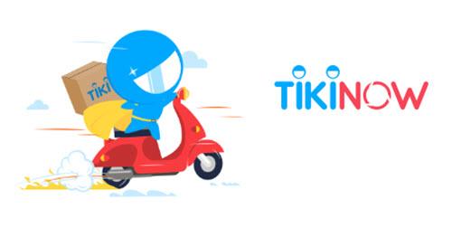 tikinow là dịch vụ giao hàng nhanh chóng chỉ trong 2h tại tiki