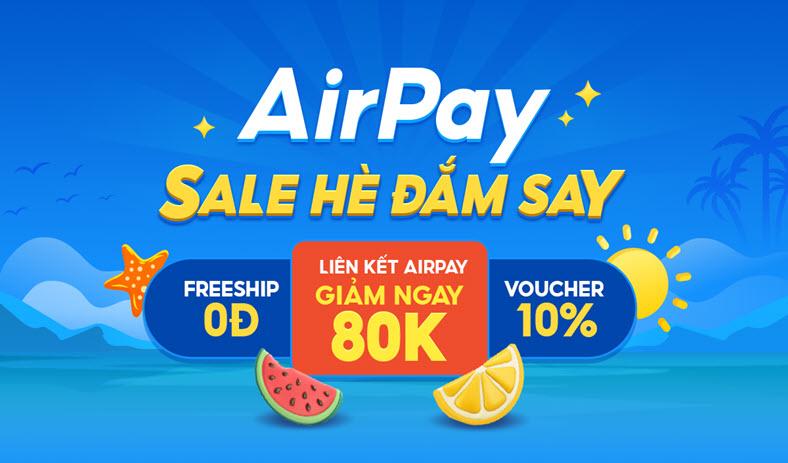 Shopee Airpay tặng mã giảm giá siêu hấp dẫn
