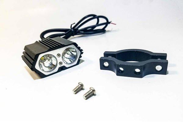 Đèn led trợ sáng Cree X2 siêu sáng - Đèn trước