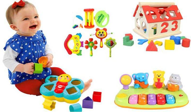 Top 5+ đồ chơi thông minh dành cho bé gái 1 - 2 tuổi