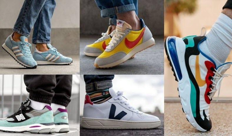 Top 10+ Thương Hiệu Giày Sneaker Chính Hãng Cho Nam Giới Hot Nhất 2021